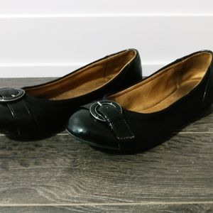EUC Naturalizer Comfort Leather And Suede Flats